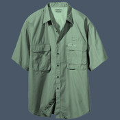Men's Hook & Tackle Short-sleeve Fishing Shirt