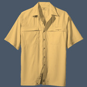 Men's Hook & Tackle Short-sleeve Performance Fishing Shirt