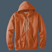Adult Combed Ringspun Fashion Fleece Full-zip Hood