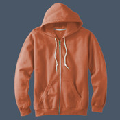 Ladies' Combed Ringspun Fashion Fleece Full-zip Hood